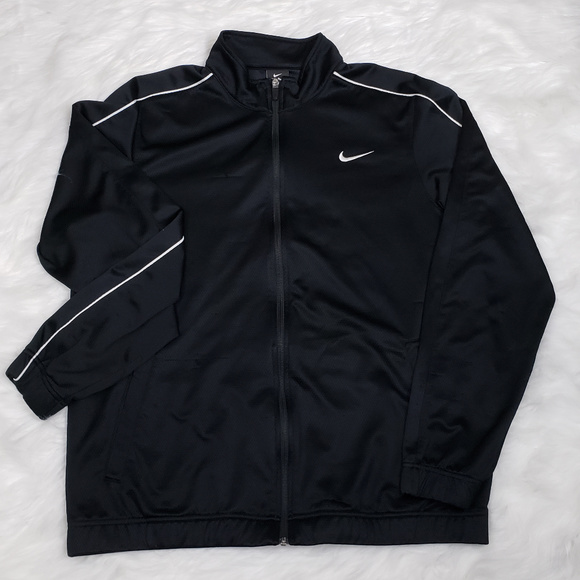 Nike Jackets & Blazers - Nike Dri Fit Running Full Zipper Jacket Size L